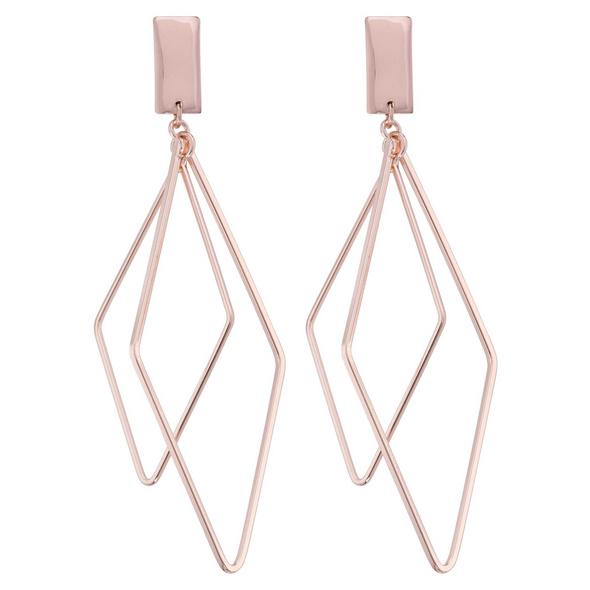 Ohrstecker - Rosé Diamond