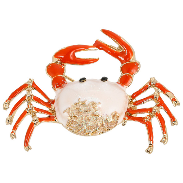 Brosche - Snapping Crab
