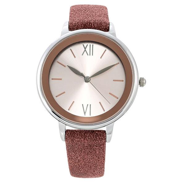 Uhr - Silver meets Rosé