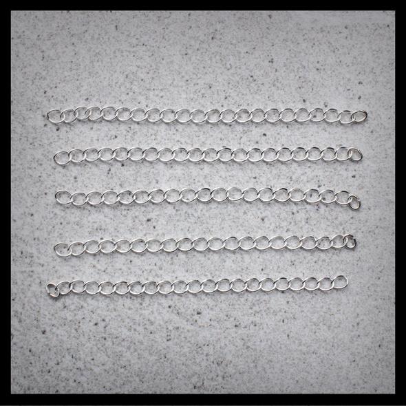Verlängerungskette - Silber Glossy