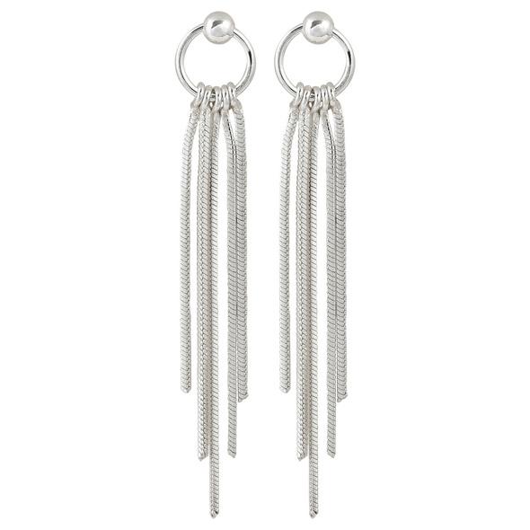 Ohrstecker - Long Silver