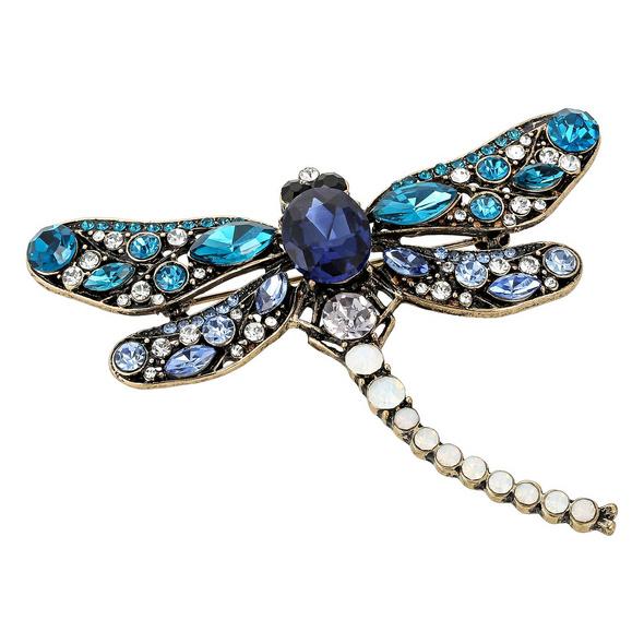 Brosche - Antik Dragonfly