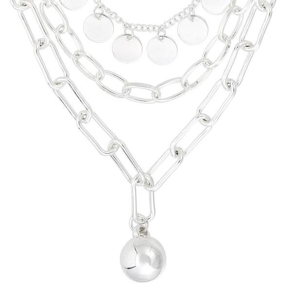 Layering Kette -Wonderful Silver