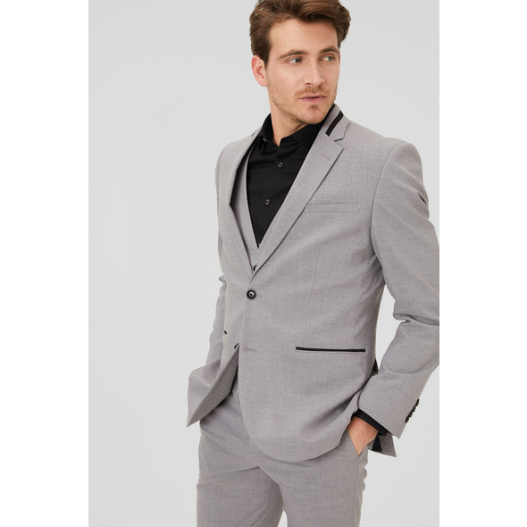 Baukasten-Sakko - Slim Fit - Stretch