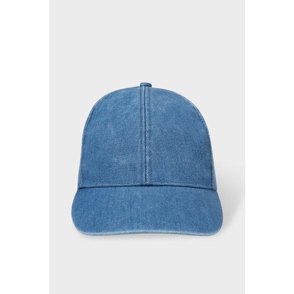 Jeans-Cap - Bio-Baumwolle