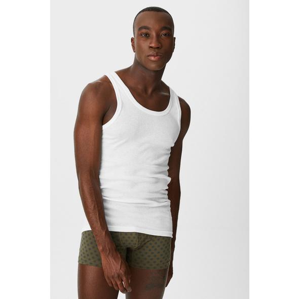 Multipack 5er - Unterhemd - Bio-Baumwolle