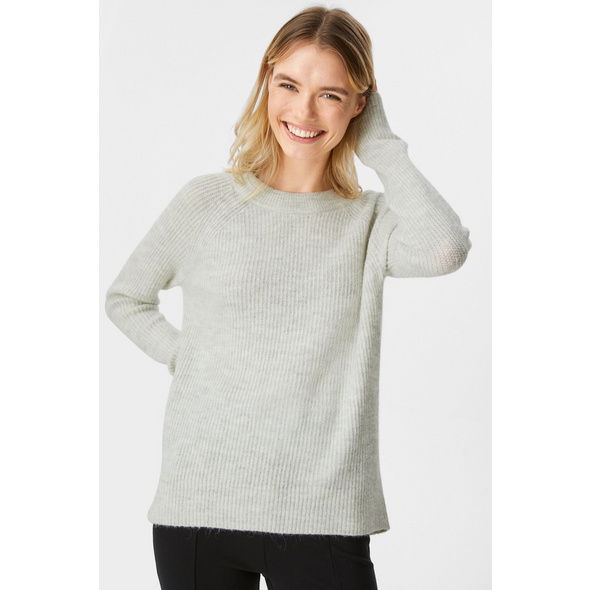 Basic-Pullover - recycelt