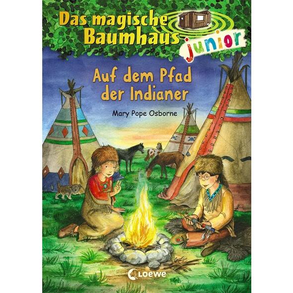 Das magische Baumhaus junior (Band 16) - Auf dem Pfad der Indianer