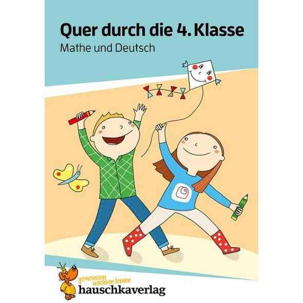 Quer durch die 4. Klasse, Mathe und Deutsch - A5-Übungsblock