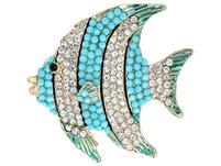 Brosche - Tropical Fish