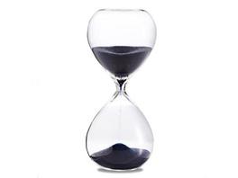 Sanduhr 'Time Out' 10 Minuten, dunkelblau